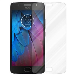 Cadorabo Tempered Glass works with Motorola MOTO G5S in...