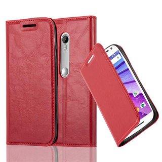 Cadorabo Book Case works with Motorola MOTO G3 in APPLE...