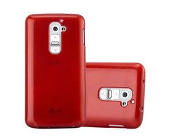 Cadorabo Case works with LG G2 in RED - Shockproof and...