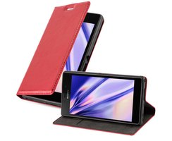 Cadorabo Book Case works with Sony Xperia M2 / M2 Aqua in...