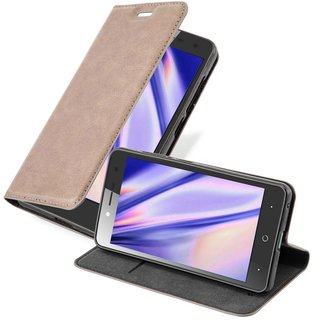 Cadorabo Book Case works with ZTE BLADE L7 in COFFEE...