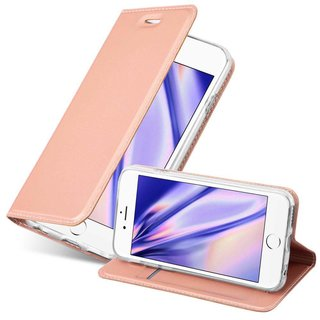 huge selection of 74d3b b591e Cadorabo Book Case works with Apple iPhone 6 PLUS / iPhone 6S PLUS in  CLASSY ROSÉ GOLD - with Magnetic Closure, Stand Function and Card Slot -  Wallet ...