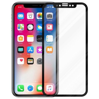 Cadorabo Tempered Glass works with Apple iPhone X / XS in...