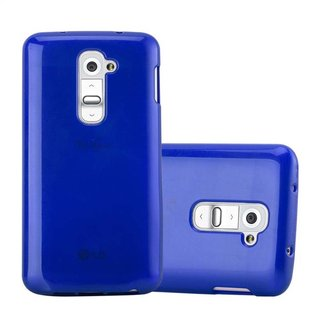 Cadorabo Case works with LG G2 MINI in BLUE - Shockproof...