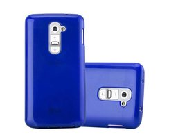 Cadorabo Case works with LG G2 MINI in BLUE Shockproof...