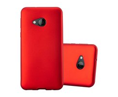 Cadorabo Case works with HTC U PLAY in METALLIC RED -...