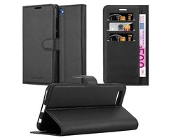 Cadorabo Book Case works with Honor 10 VIEW in OXID BLACK...
