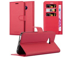 Cadorabo Book Case works with HTC U11 LIFE in CANDY APPLE...