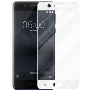 Cadorabo Tempered Glass works with Nokia 5 2017 in...