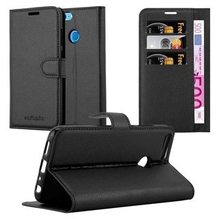 Cadorabo Book Case works with Honor 9 LITE in OXID BLACK...