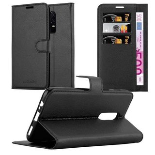 Cadorabo Book Case works with One Plus 6 in OXID BLACK -...