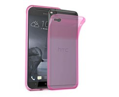 Cadorabo Case works with HTC One X9 in TRANSPARENT PINK -...