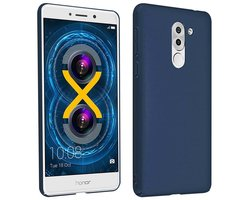 Cadorabo Case works with Honor 6X in METAL BLUE -...