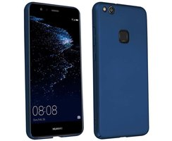 Cadorabo Case works with Huawei P10 LITE in METAL BLUE...
