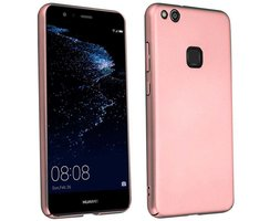 Cadorabo Case works with Huawei P10 LITE in METAL ROSÉ...