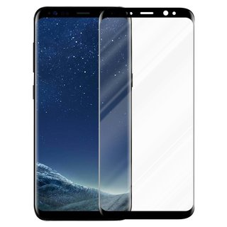 Cadorabo Tempered Glass works with Samsung Galaxy S8 in...