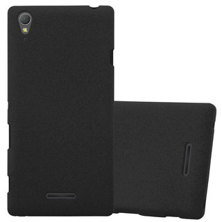 info for cf71a 84b32 Cadorabo Case works with Sony Xperia T3 in FROST BLACK - Shockproof a