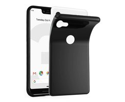 Cadorabo Case works with Google Pixel 3 in BLACK...