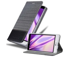 Cadorabo Book Case works with LG G3 MINI / G3S in GREY...