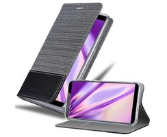 Cadorabo Book Case works with ZTE Nubia N3 in GREY BLACK...
