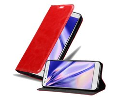 Cadorabo Book Case works with Honor 7 in APPLE RED with...