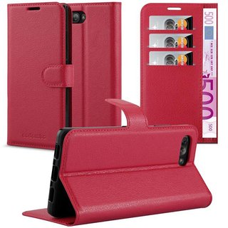 Cadorabo Book Case works with Blackberry KEY 2 in CANDY...