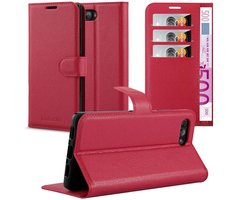 Cadorabo Coque pour Blackberry KEY 2 en ROUGE CERISE...