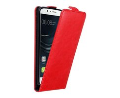 Cadorabo Case works with Huawei P9 LITE in APPLE RED Flip...