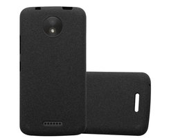 Cadorabo Case works with Motorola MOTO C in FROST BLACK...