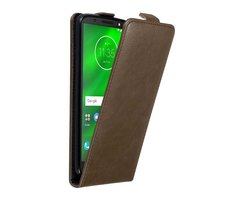 Cadorabo Case works with Motorola MOTO G6 in COFFEE BROWN...