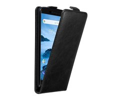 Cadorabo Case works with Nokia 6.1 2018 in NIGHT BLACK -...