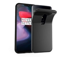 Cadorabo Case works with OnePlus 6 in BLACK Shockproof...