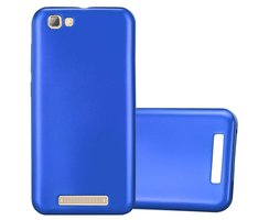 Cadorabo Case works with ZTE Blade A612 in METALLIC BLUE...