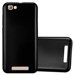 Cadorabo Case works with ZTE Blade A612 in METALLIC BLACK...