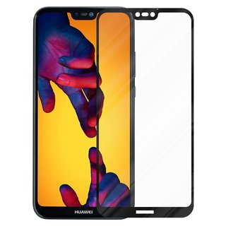 Cadorabo Tempered Glass works with Huawei P20 LITE in...