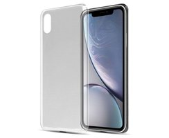 Cadorabo Hülle für Apple iPhone XR in VOLL TRANSPARENT -...