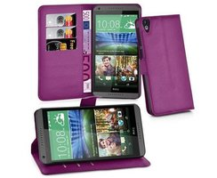 Cadorabo Book Case works with HTC Desire 820 in PASTEL...