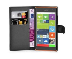 Cadorabo Book Case works with Nokia Lumia 730 in OXID...