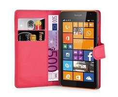 Cadorabo Book Case works with Nokia Lumia 535 in CANDY...