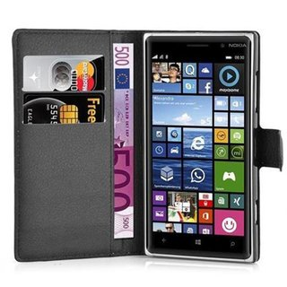 Cadorabo Book Case works with Nokia Lumia 830 in OXID...
