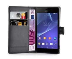 Cadorabo Book Case works with Sony Xperia M2 AQUA in OXID...