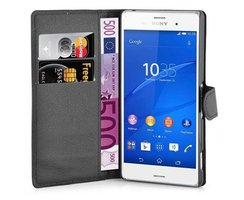 Cadorabo Book Case works with Sony Xperia Z3 in OXID...