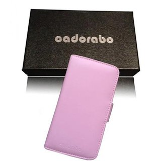 Cadorabo Book Case works with HTC ONE X / X+ in DUSKY PINK - with Stand Function and Card Slot made of Smooth Faux Leather - Wallet Etui Cover Pouch PU Leather Flip