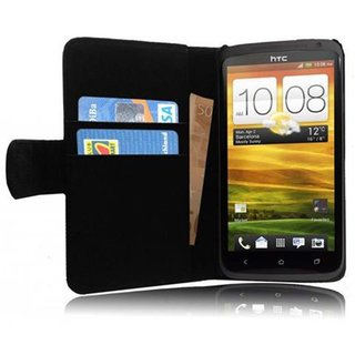 Cadorabo Book Case works with HTC ONE X / X+ in OXID...