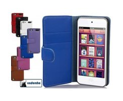 Cadorabo Book Case works with Apple iPod TOUCH 5 in NAVY...