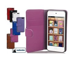 Cadorabo Book Case works with Apple iPod TOUCH 5 in DUSKY...