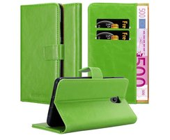 Cadorabo Book Case works with Lenovo P2 in GRASS GREEN -...
