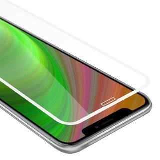 Cadorabo Tempered Glass works with Apple iPhone XS MAX in...
