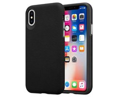 Cadorabo Case works with Apple iPhone X / XS in DAHLIA...