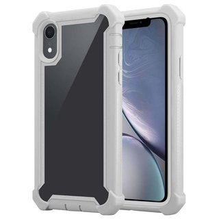 Cadorabo Hülle für Apple iPhone XR in BIRKEN GRAU ?...